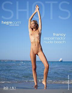 Francy Espalmador nude beach