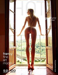 Francy fine art model