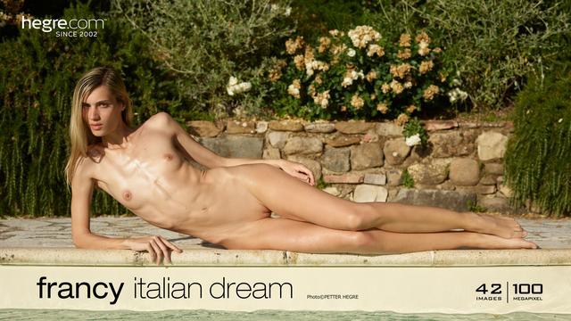 Francy rêve italien