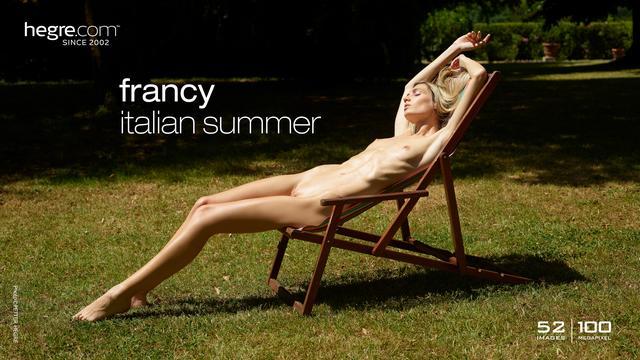 Francy verano italiano