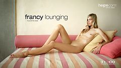 Francy lounging