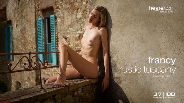 Francy Toscane rustique