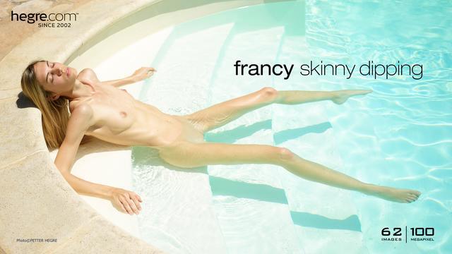 Francy delgadez sumergida