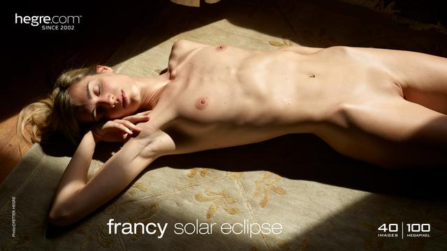 Francy solar eclipse
