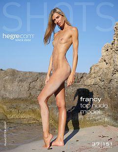 Francy top nude model