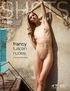 Francy desnudos toscanos