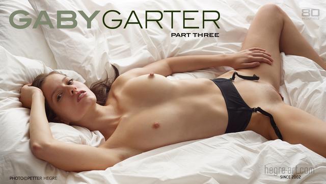 Gaby garter part 3