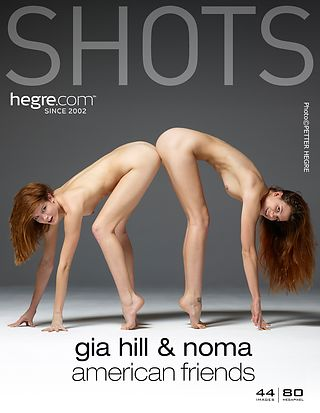 Gia Hill and Noma American friends