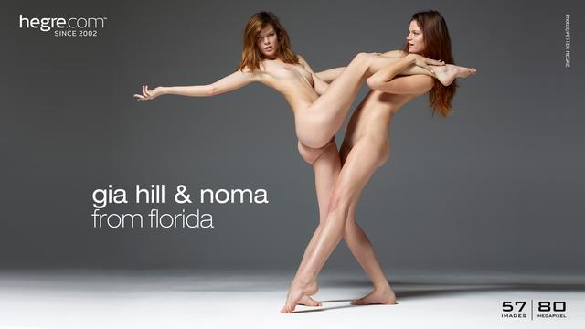 Gia Hill and Noma gemelas de Florida