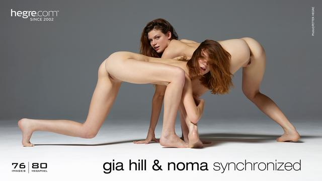 Gia Hill and Noma synchronized