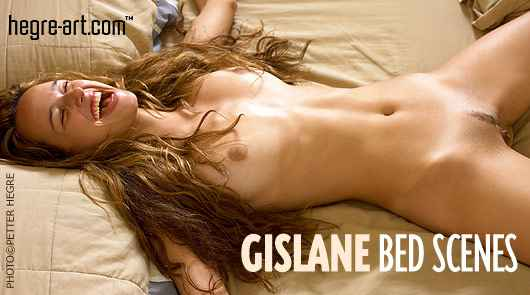 Gislane escenas de cama