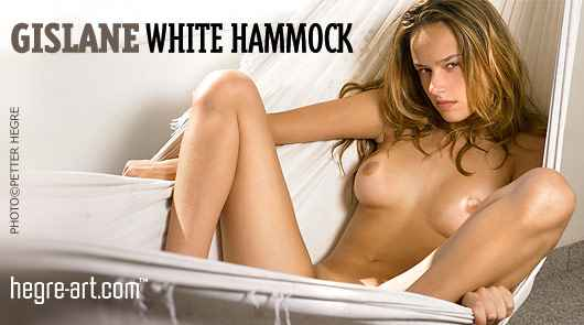 Gislane white hammock