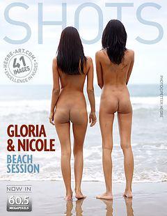 グロリア&ニコール ビーチセッション