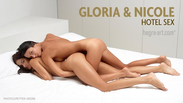 Gloria and Nicole hotel sex