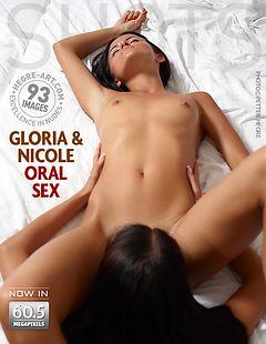 Gloria and Nicole oral sex