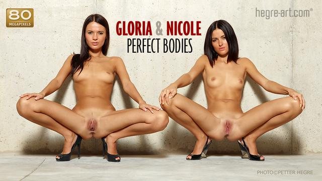 Gloria and Nicole perfect bodies
