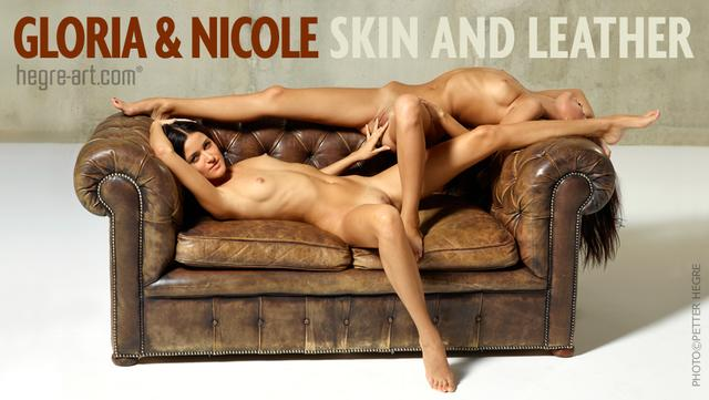 Gloria and Nicole skin and leather