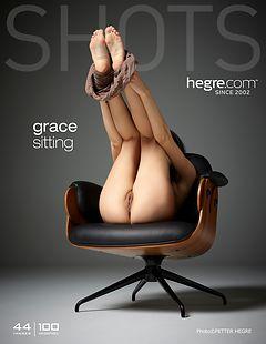 Grace sitting