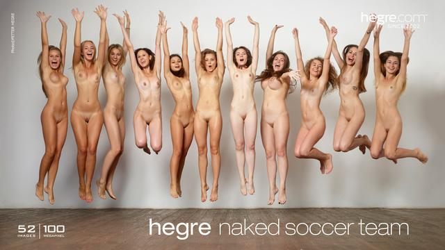 Hegre naked soccer team