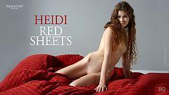 Heide sábanas rojass