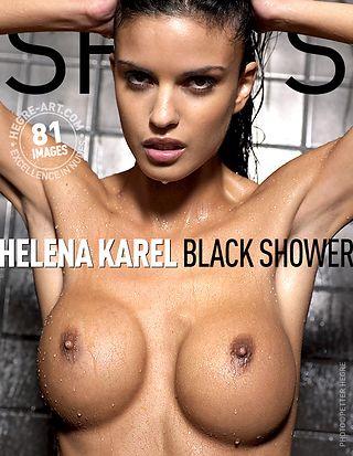 Helena Karel black shower