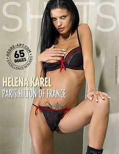 ヘレナ・カレル フランスのパリス・ヒルトン