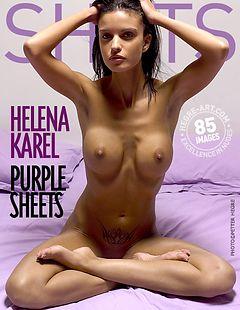 ヘレナ・カレル 紫のシーツ