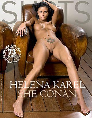 Helena Karel she Conan