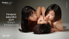 Hinaco Sayoko Yun Tokyo threesome