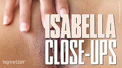 Isabella close ups