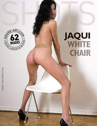 Jaqui white chair