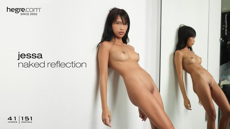 Jessa naked reflection