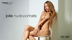 Jolie nude portraits