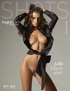 Jula schwarzes Hemd