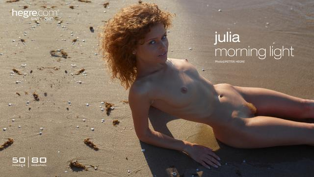 Julia morning light