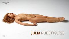 Julia figuras desnudas