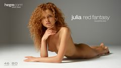 Julia Fantasie in Rot