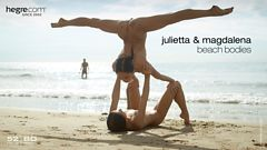 Julietta and Magdalena beach bodies