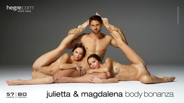 Julietta and Magdalena body bonanza