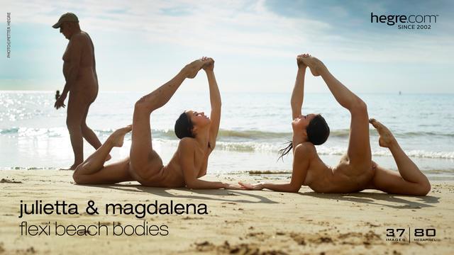 Julietta and Magdalena flexi beach bodies