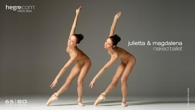 Julietta and Magdalena naked Ballet