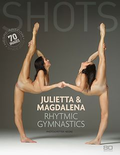Julietta and Magdalena rhythmic gymnastics