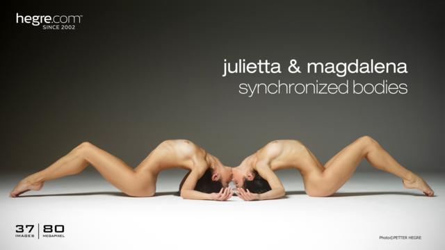 Julietta y Magdalena sincronizadas