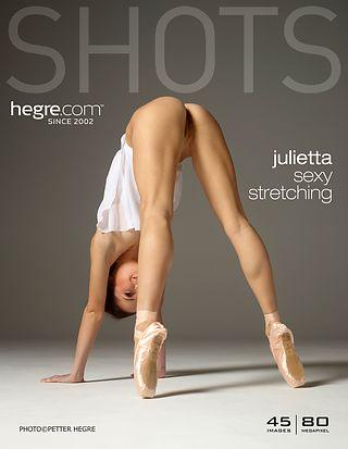 Julietta sexy stretching