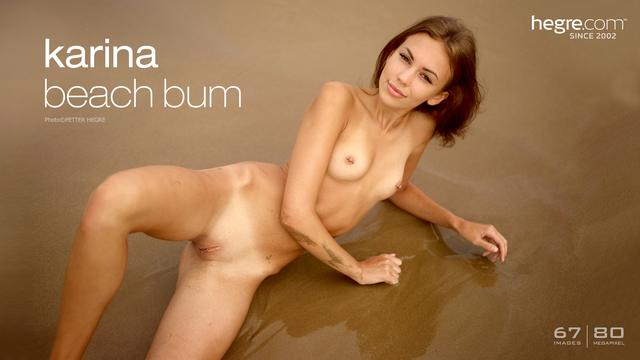 Karina beach bum