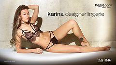 Karina designer lingerie