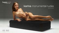 Karina Monumentale Akte