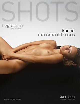 Karina monumental nudes