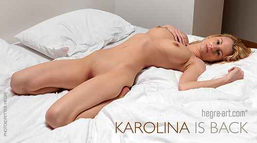 Karolina is back