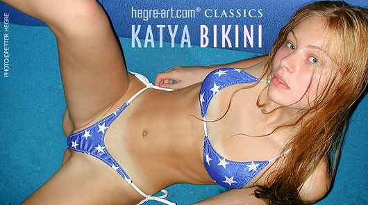 Katya in bikini